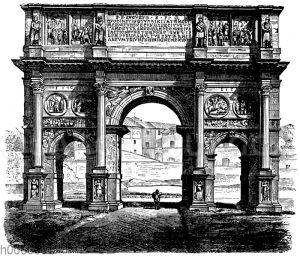 Triumphbogen des Constantinus in Rom