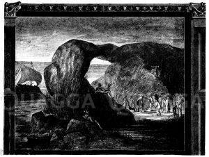 Odysseus in der Unterwelt