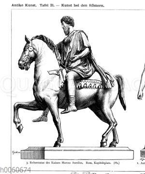 Reiterstatue des Kaisers Marcus Aurelius