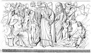 Relief vom Pamfilschen Sarkophag