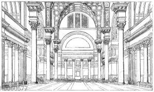 Thermen des Caracalla zu Rom