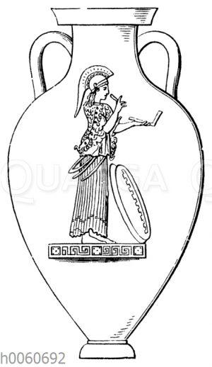 Rotfigurige Amphora