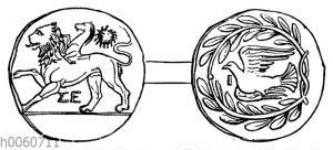 Münze von Sikyon