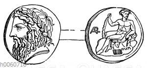 Münze von Arkadien
