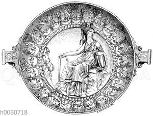 Silberne Schale von Hildesheim