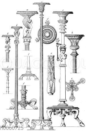 Bronze-Kandelaber