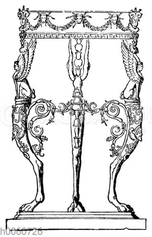 Bronzener Dreifuß