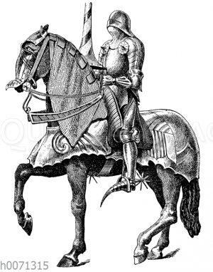 Harnisch aus dem 15. Jahrhundert