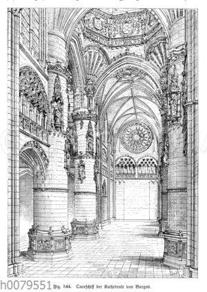 Querschiff der Kathedrale von Burgos