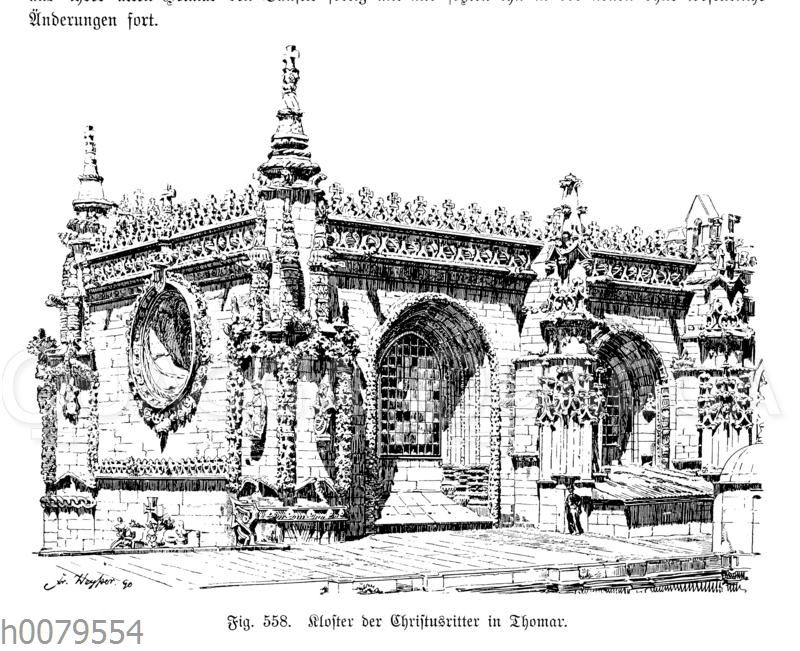 Kloster der Christusritter in Thomar