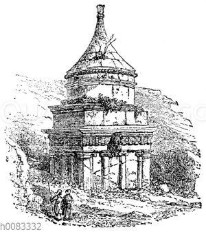 Absaloms Denkmal bei Jerusalem