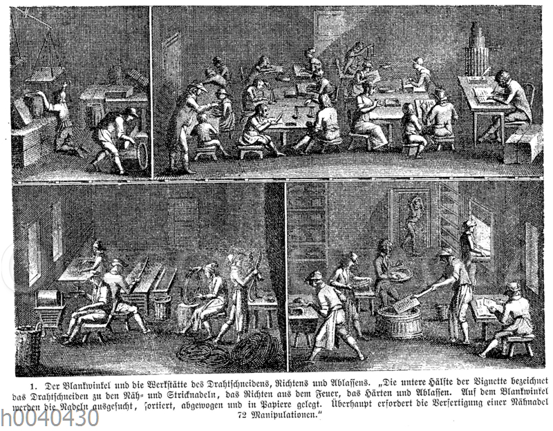 Blankwinkel und Werkstätte des Drahtschneider