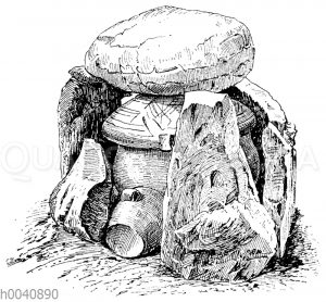 Urnengrab aus der Hallstattzeit