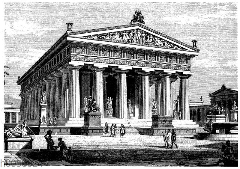 Poseidontempel zu Pästum