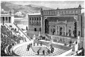Das Dionysos-Theater in Athe