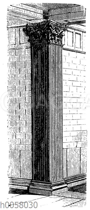 Korinthischer Pilaster