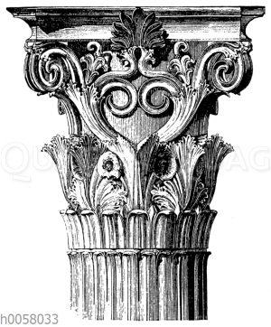 Vom Denkmal des Lysistrates in Athen