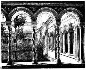 Klosterhof von San Paolo bei Rom