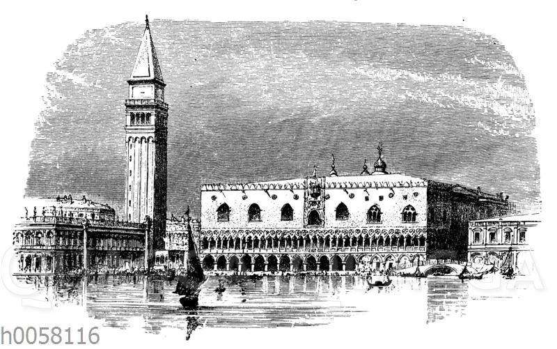 Dogenpalat in Venedig