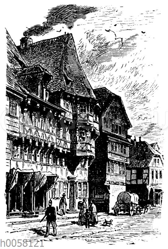 Marktkirchhof in Goslar