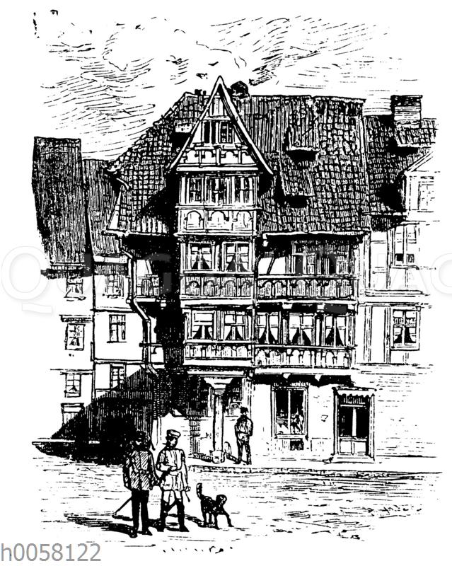 Altes Haus in Halberstadt