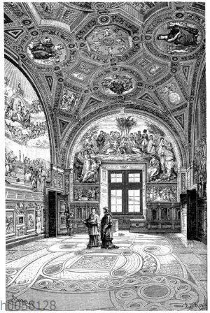 Treppenhaus des Palazzo Durazzo in Genua.