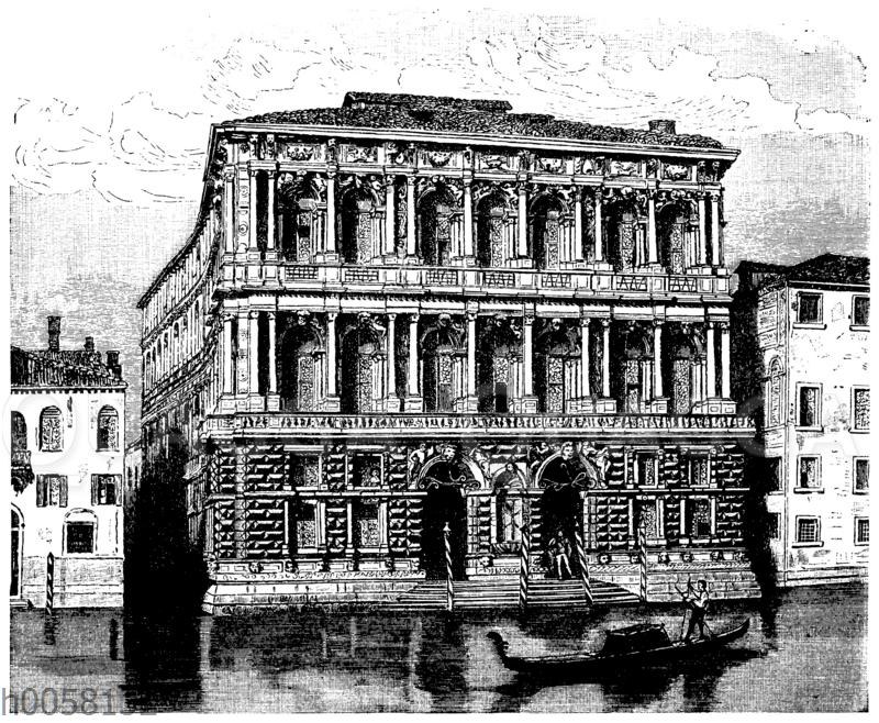 Palast Pesaro in Venedig