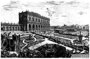 Villa und Garten Albani in Rom