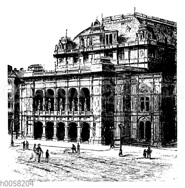 Opernhaus in Wien