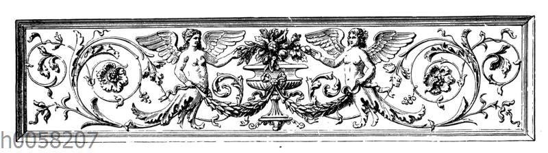 Ornament. Von Fr. Schönthaler in Wien