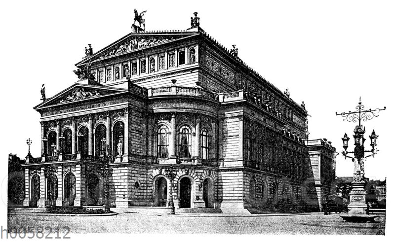 Neues Opernhaus zu Frankfurt a. M.