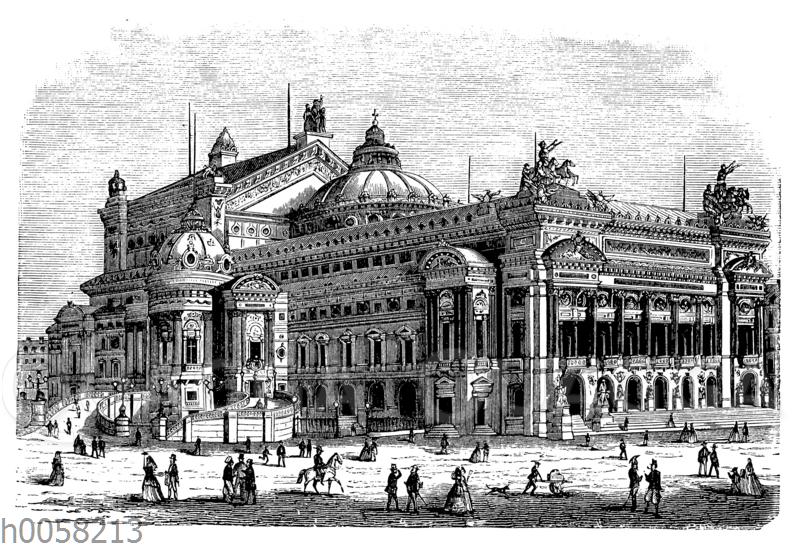 Das neue Opernhaus zu Paris