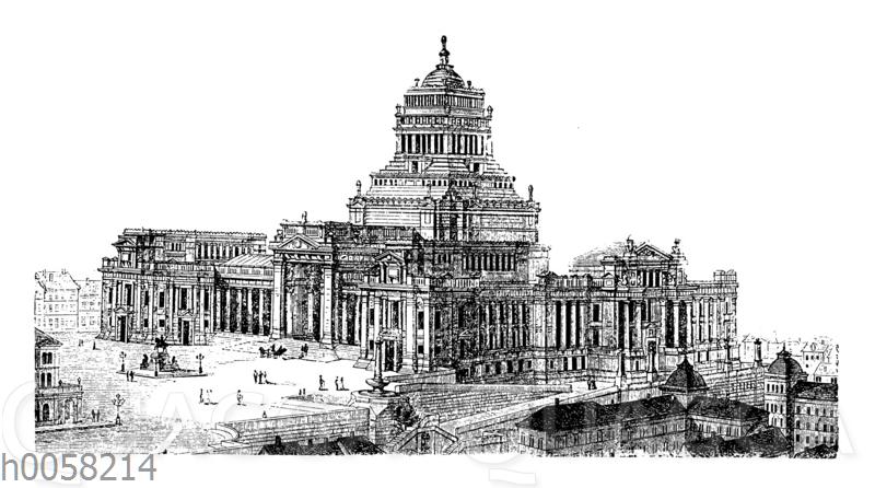 Justizpalast in Brüssel