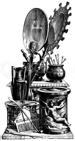 Antike Toilettengegenstände