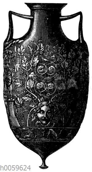 Antik römische Glas-Amphora