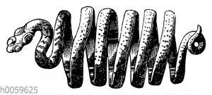 Fingerring in Gestalt einer Schlange