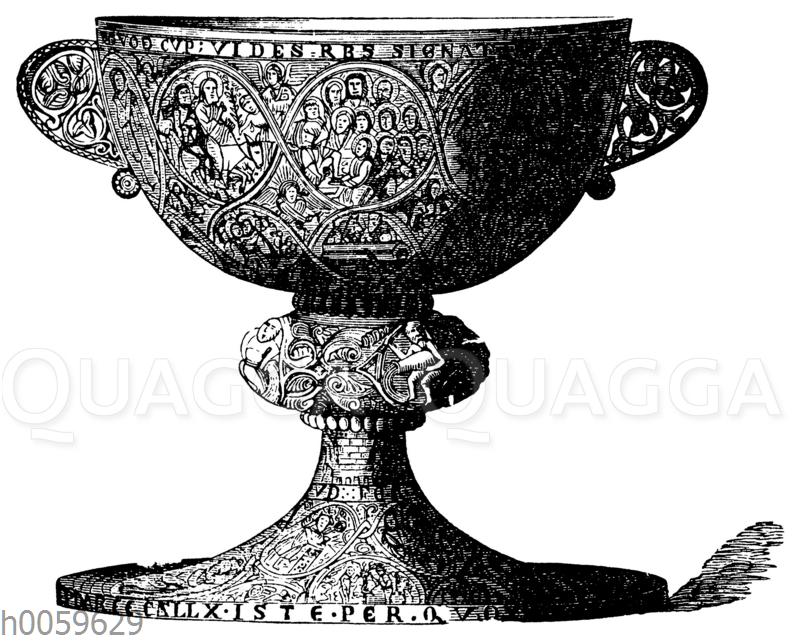 Romanischer Speisekelch (Ciborium) aus Wilten