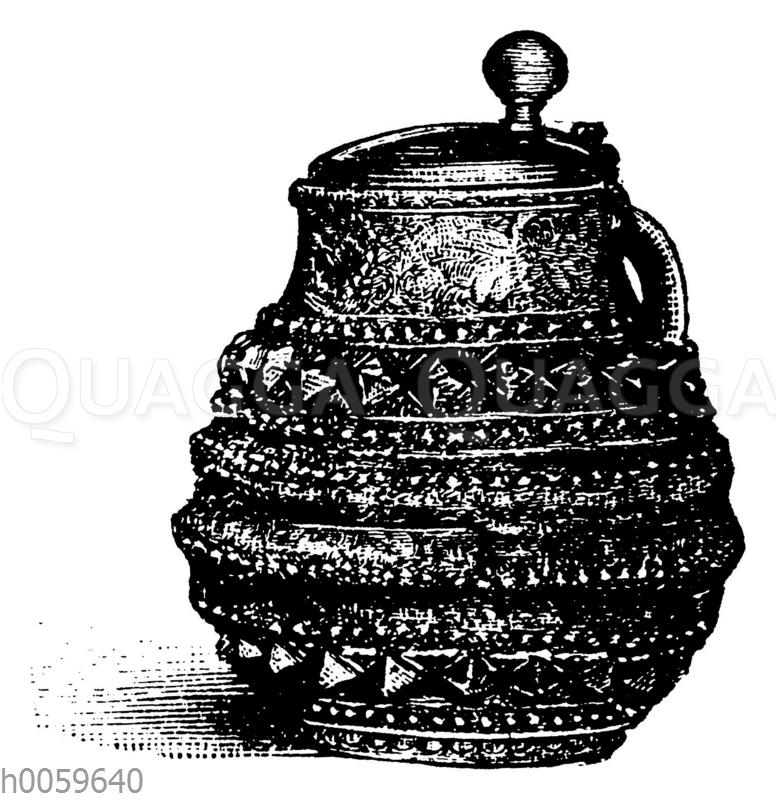 Niederrheinischer Steinzeugkrug