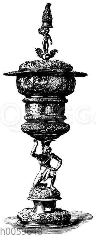Silberner Pokal