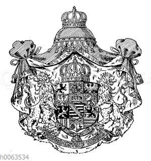 Wappen des Königreichs Sachsen