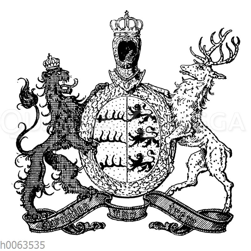 Wappen von Württemberg