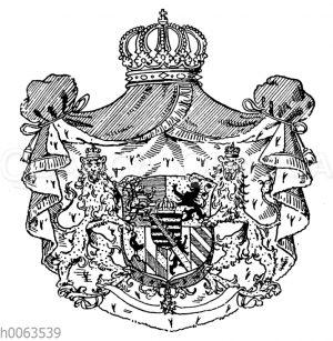 Wappen von Sachsen-Weimar