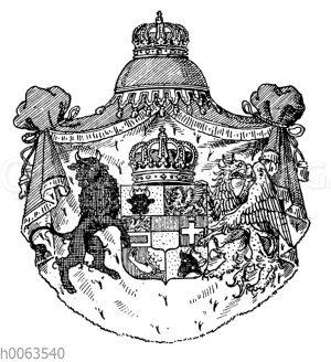 Wappen von Mecklenburg-Strelitz
