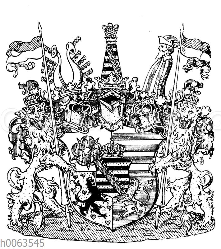 Wappen von Sachsen-Altenburg