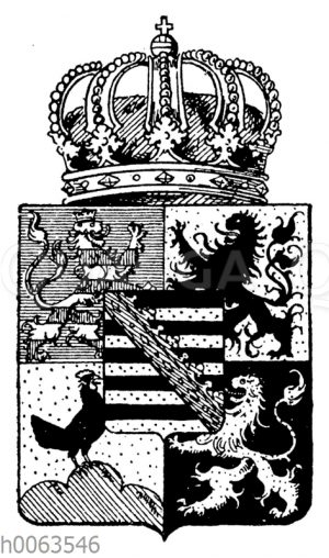 Wappen von Sachsen-Coburg-Gotha