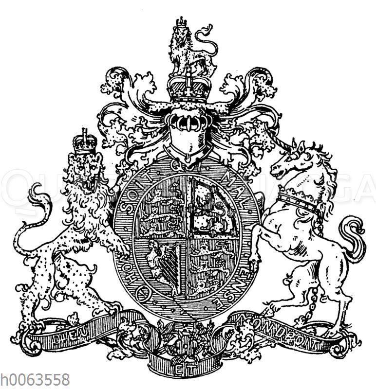 Wappen von Großbritannien und Irland