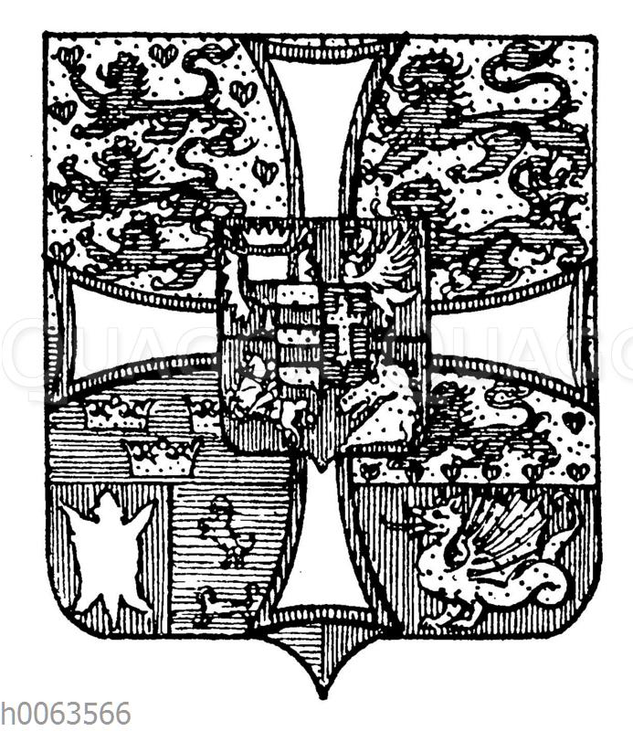 Wappen von Dänemark