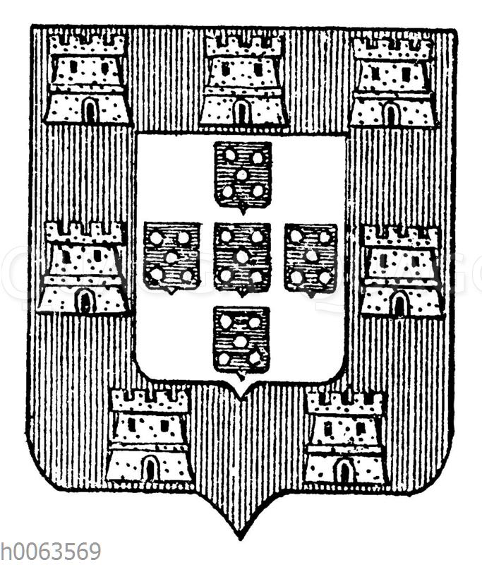 Wappen von Portugal