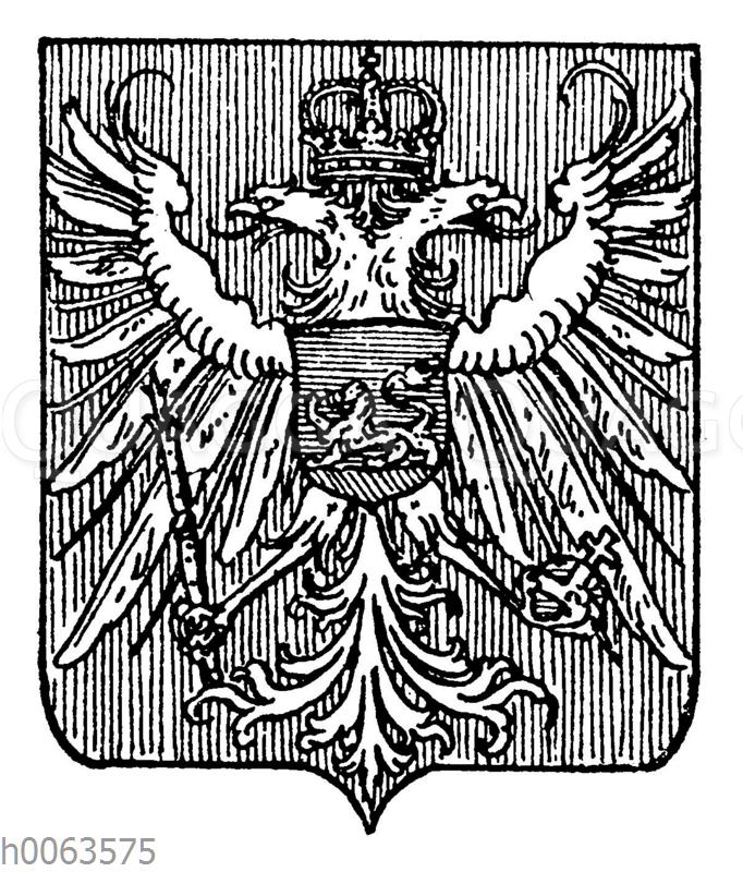 Wappen von Montenegro