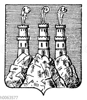 Wappen von San Marino
